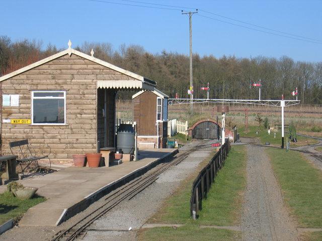 Avonvale miniature railway station