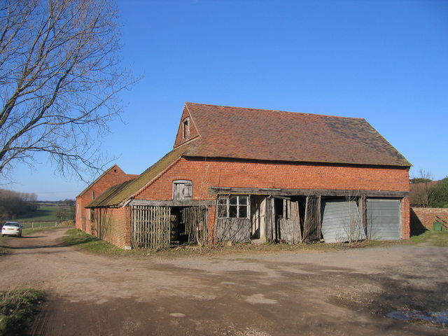 Farm buildings at Wood Bevington