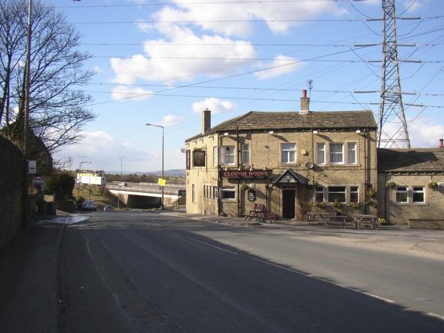 Clough Lane A6107, Rastrick