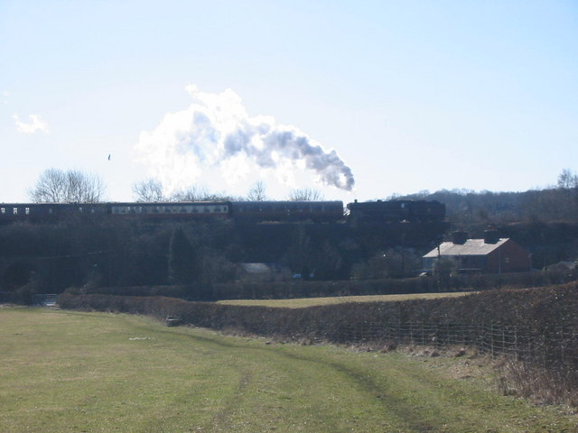 Ironville Junction on the Midland Railway