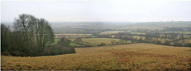 From the top of Broughton Hill