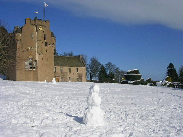 Winter at Crathes Castle