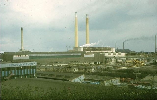 Northfleet Mills, 1973