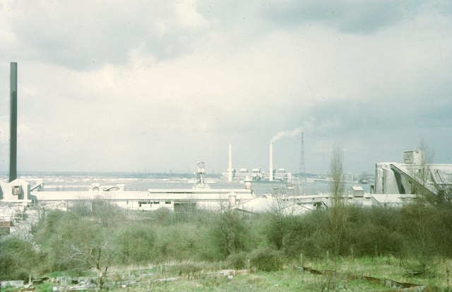 Cement  Works, Stone, 1973