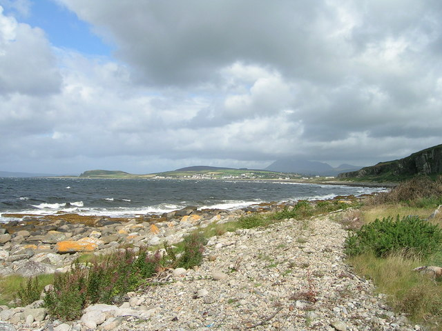 A view of Blackwaterfoot.