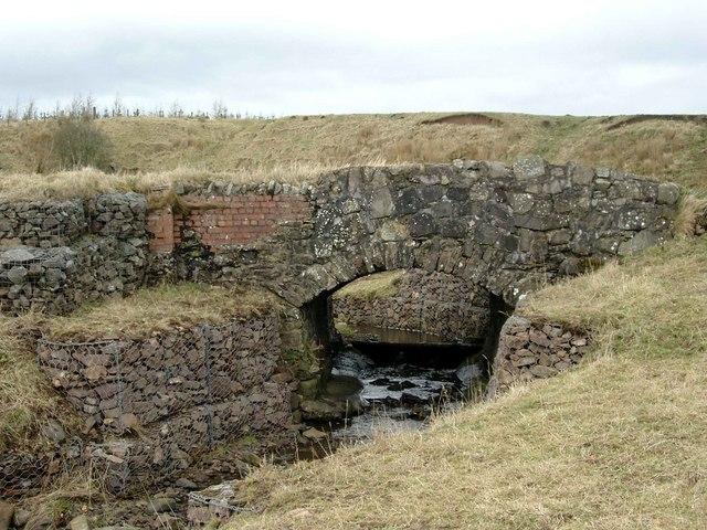 Renovated bridge over the Hareshaw Burn