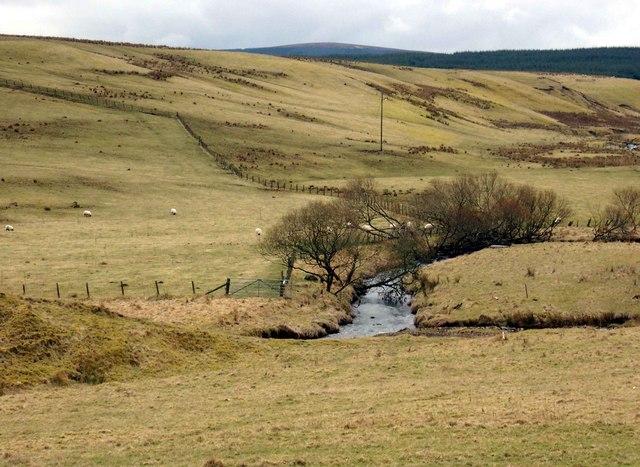 The Kype Water below the Kype Reservoir