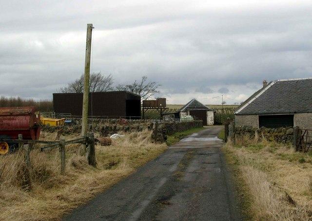 Hareshawhead farm