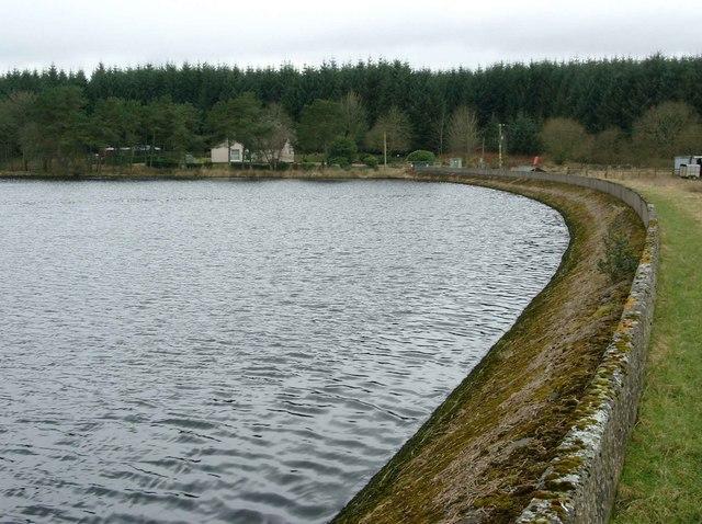 The Kype Reservoir dam