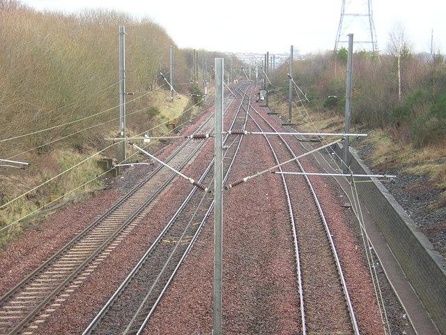 Railway Near Newton