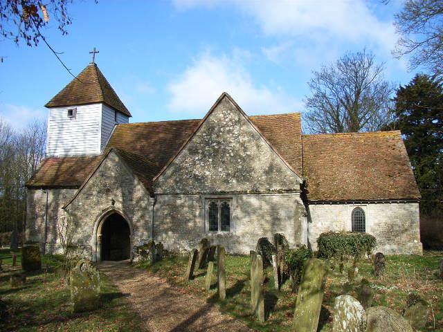 The church, Dorton