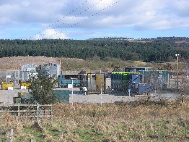Landfill, Aucheninnes Moss.