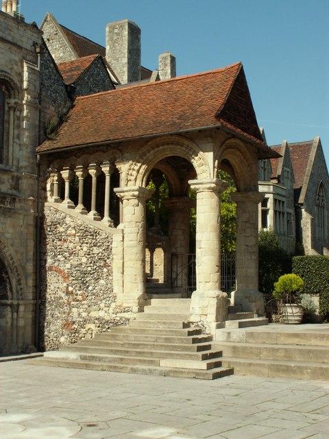 Norman Staircase, Canterbury, Kent