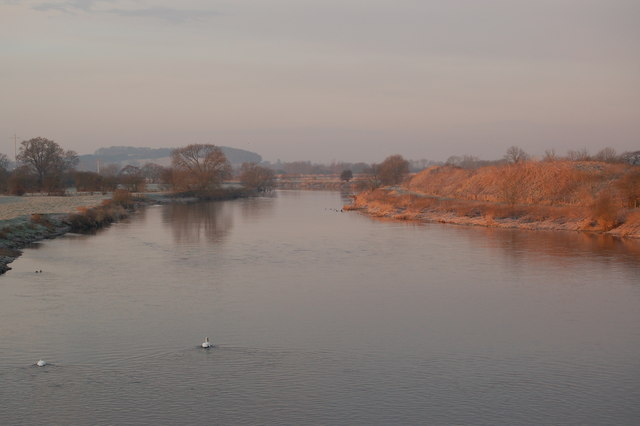 River Trent From Willington Bridge