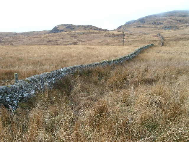 March wall near Strone, Isle of Jura