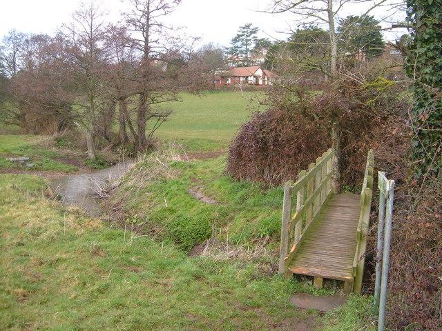 Littleham Brook near Maer Farm