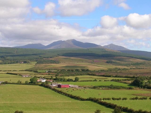 Ashlar Farm and Tormore, Isle of Arran.