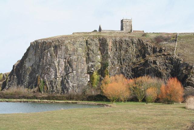 Weston-super-Mare: Old St Nicholas, Uphill