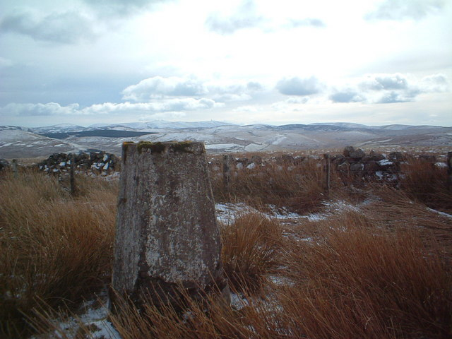 Mountherrick hill trig point