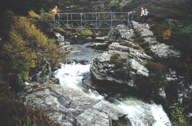 Scottish Rights of Way bridge over the R.Eidart