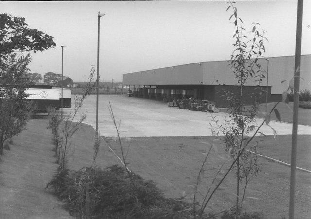 Distribution Centre, Whitwood Common Lane, 1979