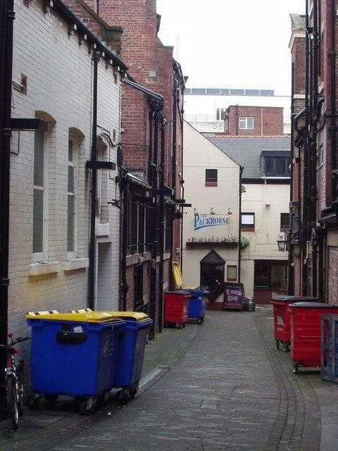 Packhorse Yard, Leeds