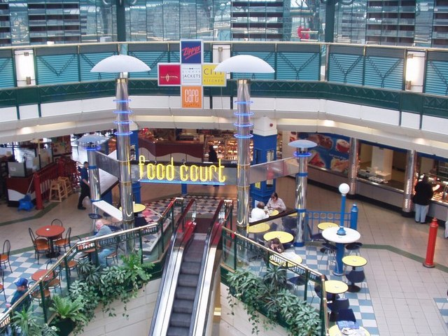Headrow Centre Food Court