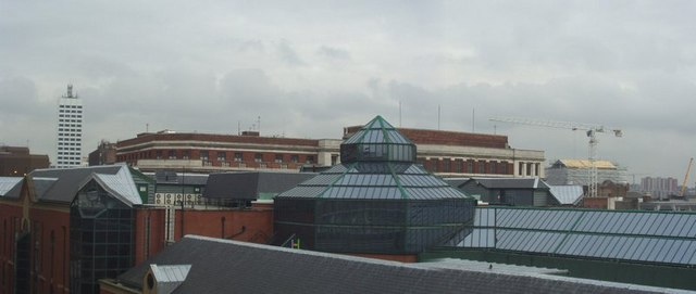 Headrow Centre Roofscape