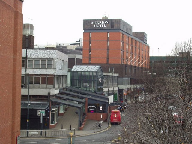 The Merrion Centre and Wade Lane