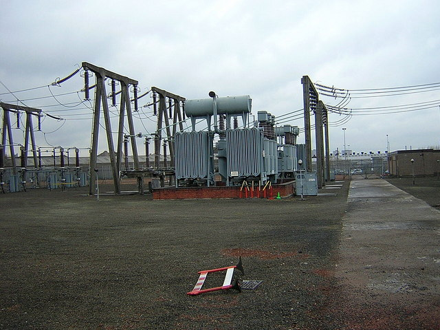 Electricity Substation, Rutherglen