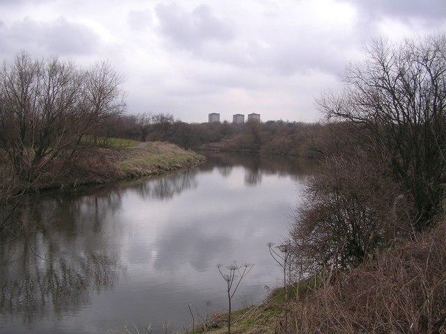 River Clyde near Dalmarnock