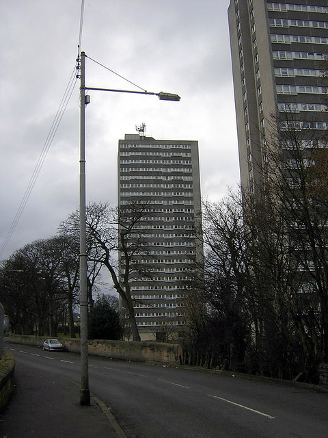 High Flats, Sandyhills, Glasgow