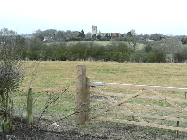 View of St Mary's, Hardwick, from the South