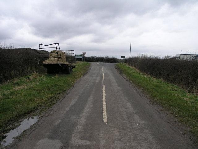 Hockerton Road Meets A617