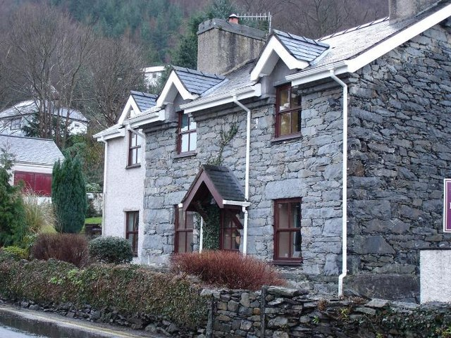Trefriw cottages