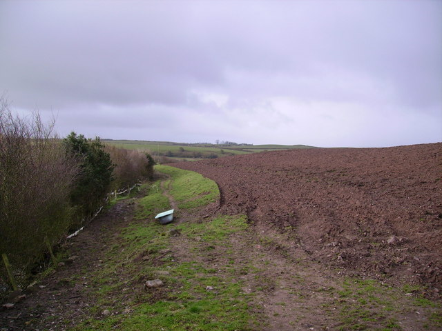 Bath and Ploughed Field