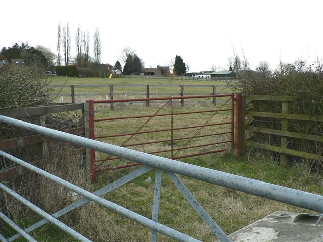 Fields and Houses in Weedon