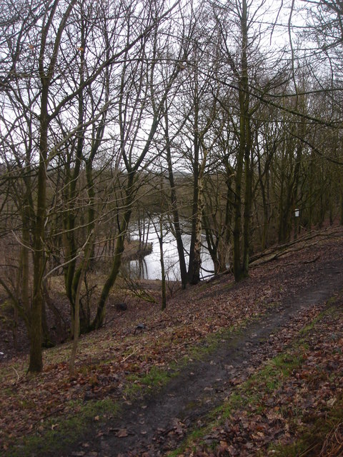 Small reservoir at Whittle le Woods