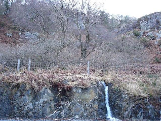 Hillside near Pont y pant