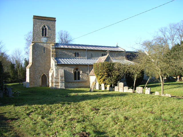 Fringford church