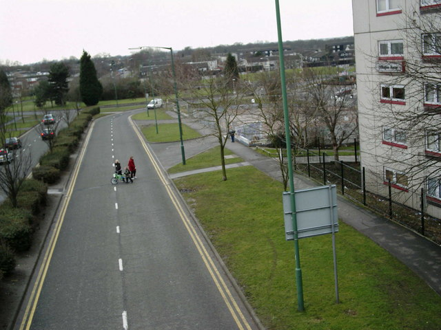 Looking towards Pine Square