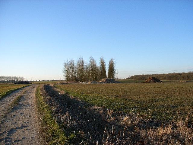 Bridleway near Barton Hartshorn