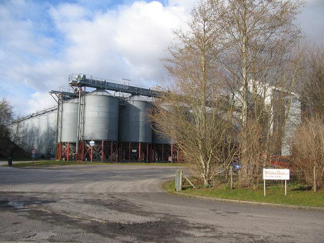 Grain store at Rollestone