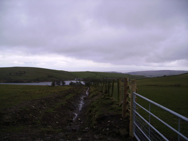 Above Pennington Reservoir