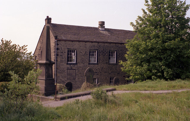 Inghamite church, Winewall, near Colne, Lancashire