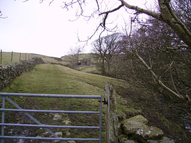 Barn and Gate