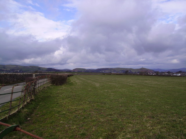 Looking back towards Ulverston
