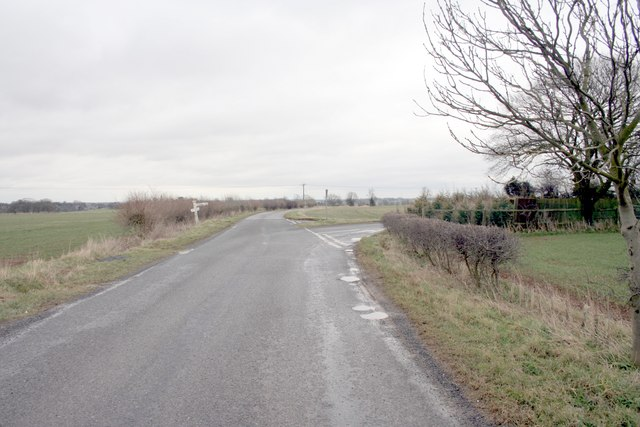 Road Junction from Ridlington to Ayston