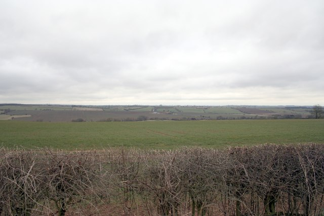 Across the valley of the River Chater, Ridlington