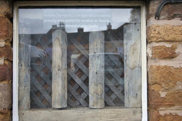 Old window in Uppingham